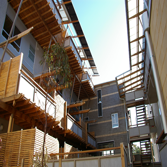 Whitmore Square Affordable Eco-Housing, Adelaide, by Troppo (Image: Troppo)