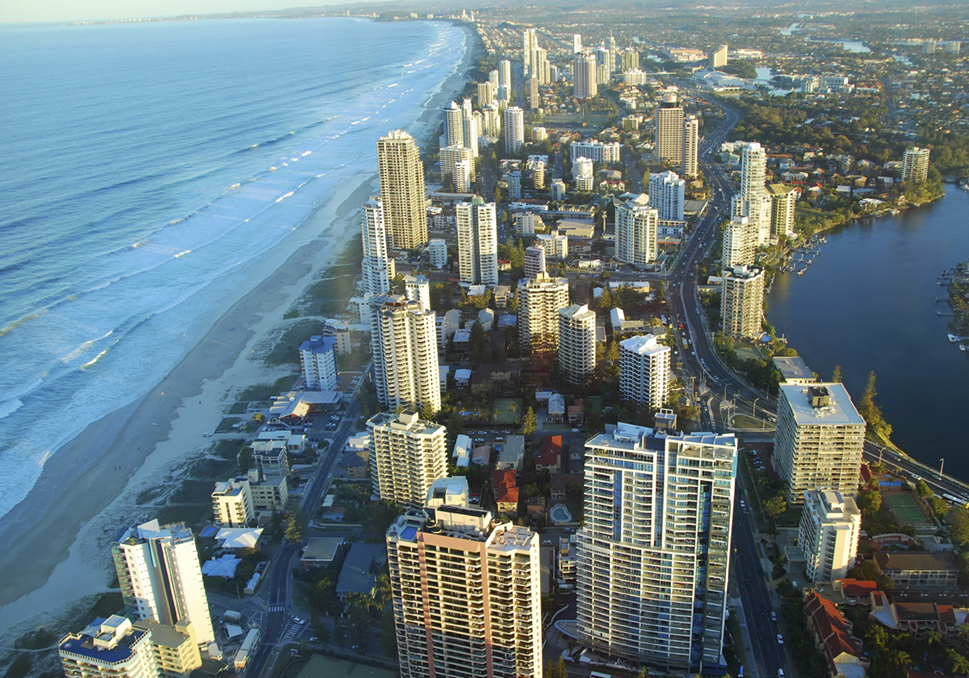 The Gold Coast, South-East Queensland